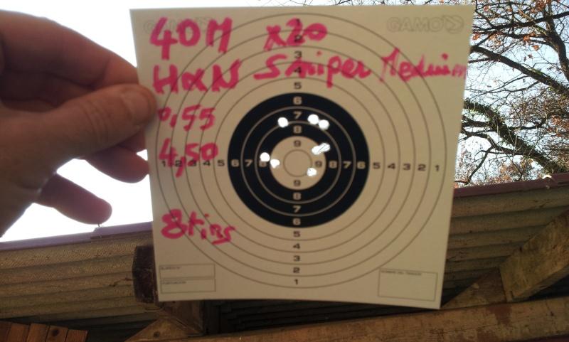 test de plombs JSB et H&N 40m Gamo Hunter IGT   Hn_sni10