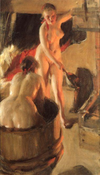 Aperçu sur la peinture scandinave Women_10