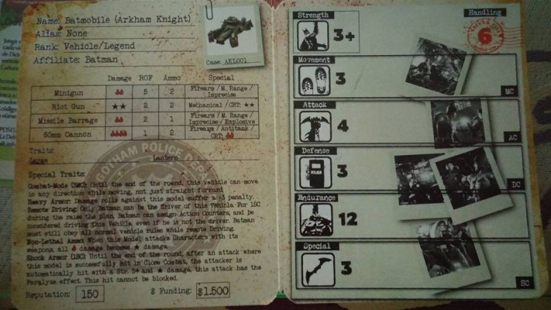 Règles Carte Batmobile (Arkham Knight) 11219310