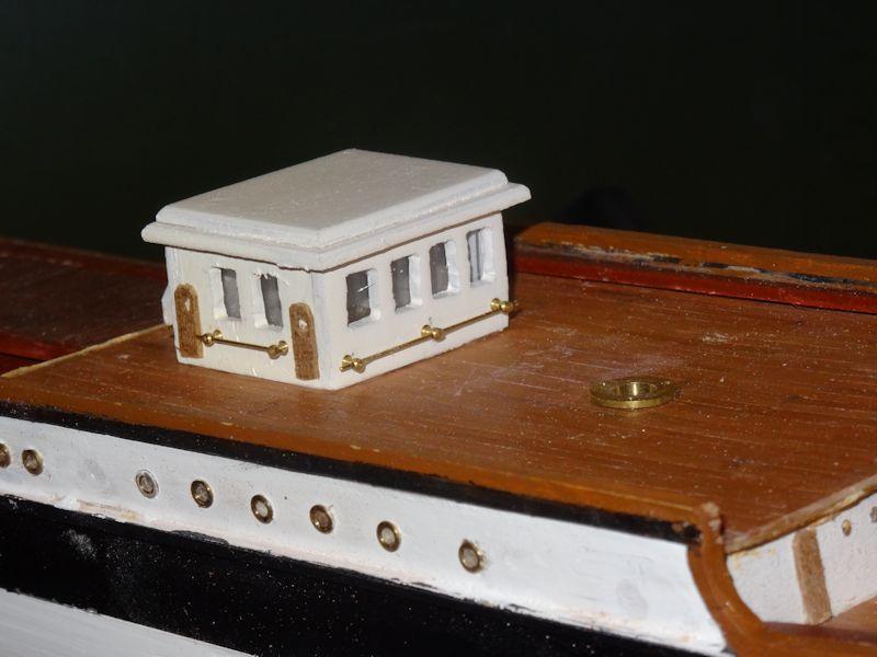 Instandsetzung der Pamir von Graupner, gebaut von Kurti P510