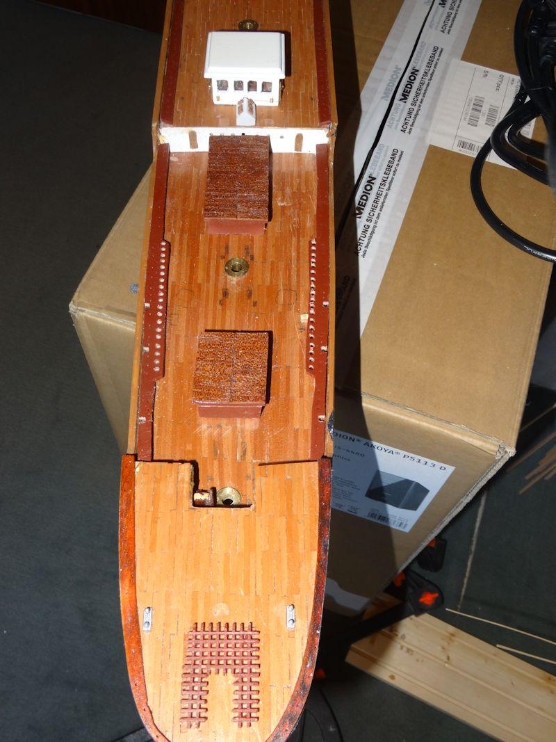 Instandsetzung der Pamir von Graupner, gebaut von Kurti P710