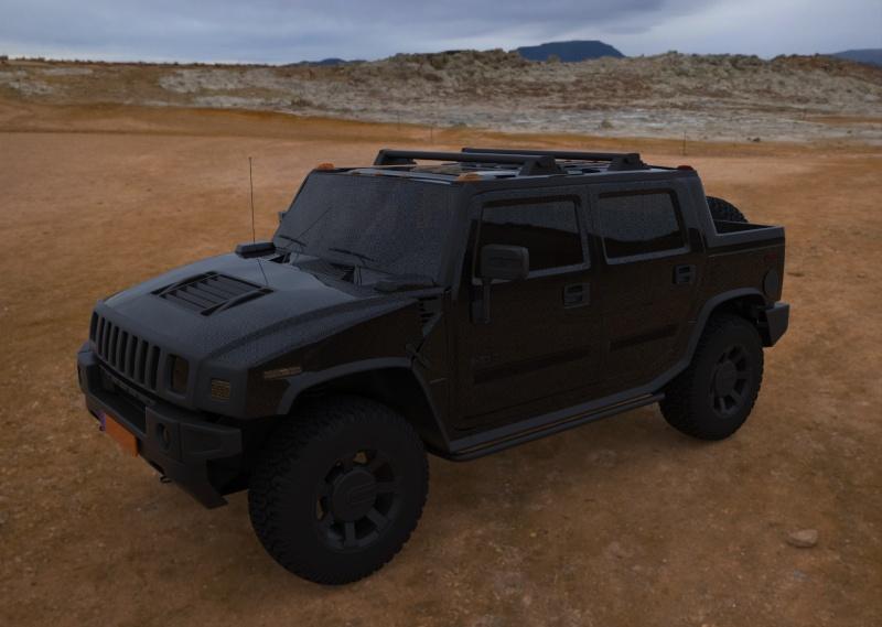 Virtual visualisation 3D ou comment tester le look de son hummer sans surprise Hummer13