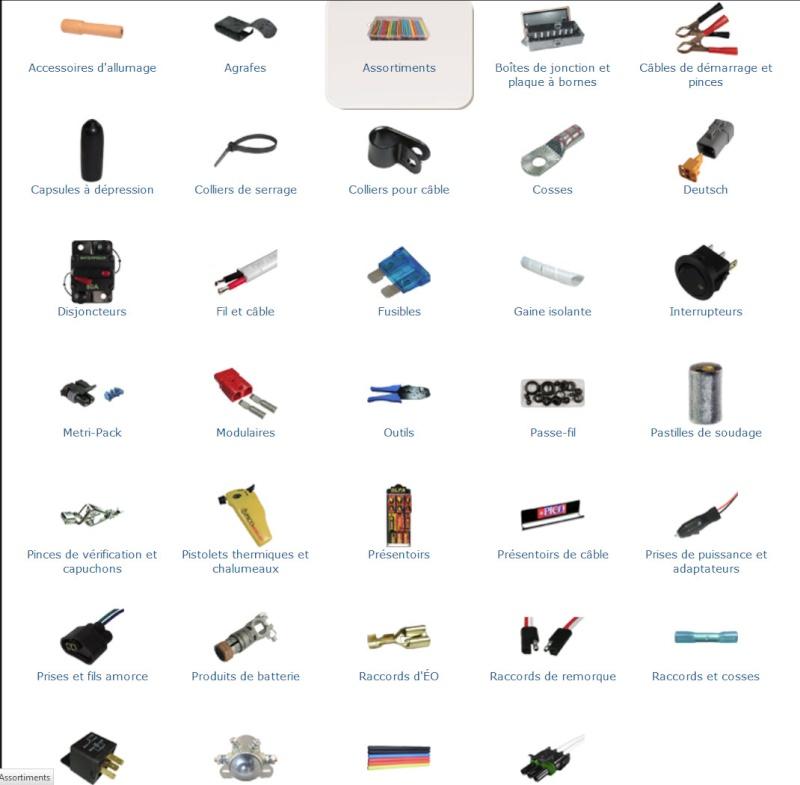 PICO : fils, fusible, solenoid, boite jonction, connecteur, switch etc.. lien Pico10