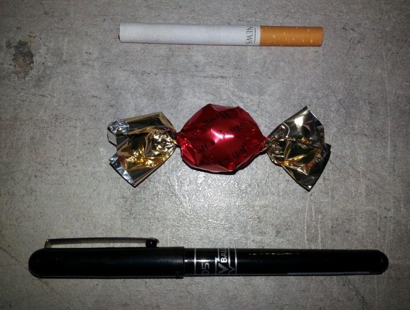 comment faire une cigarette allumée pour présentation mannequin 0110