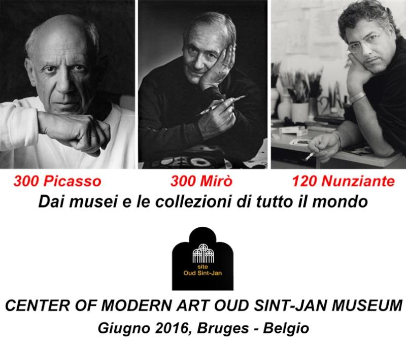 Picasso - Mirò - Nunziante - Bruges (B) 27 Giugno- 27 Settembre 2016 Dce02612