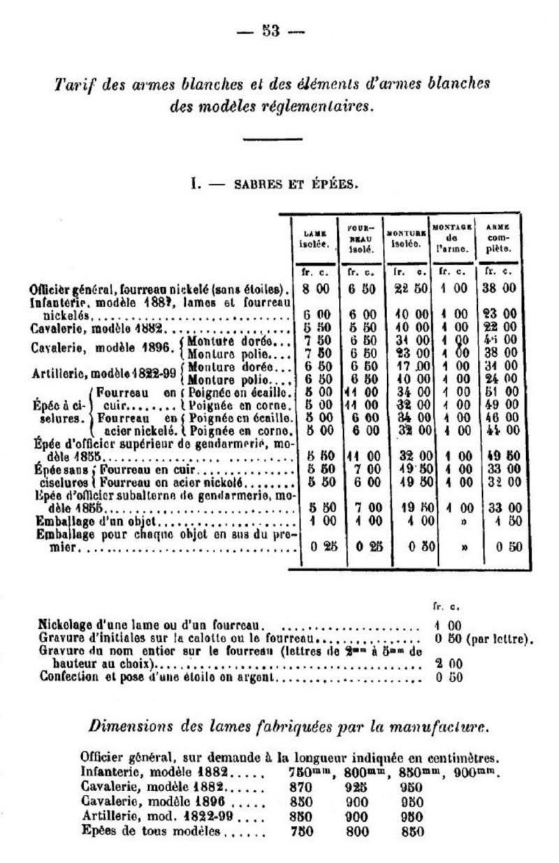 Sabre d'officier d'artillerie modèle 1822-99 F61_hi10
