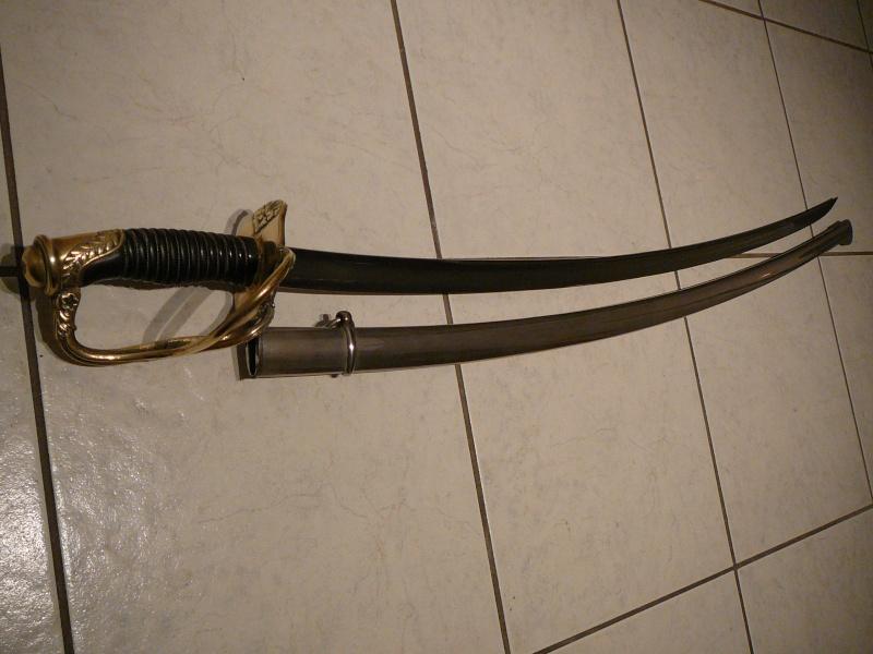 Sabre d'officier d'artillerie modèle 1822-99 P1290413