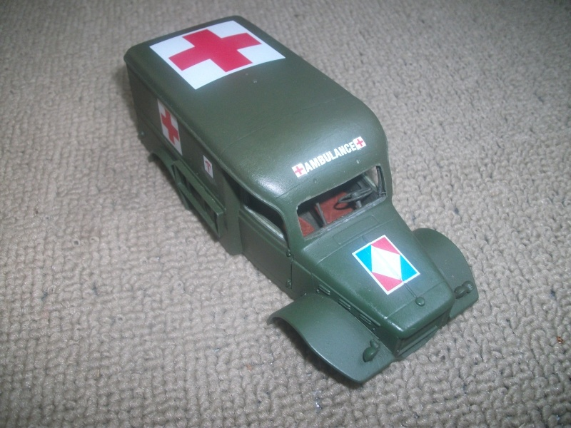 Dodge WC54 ambulance Bileck 1/35 00111