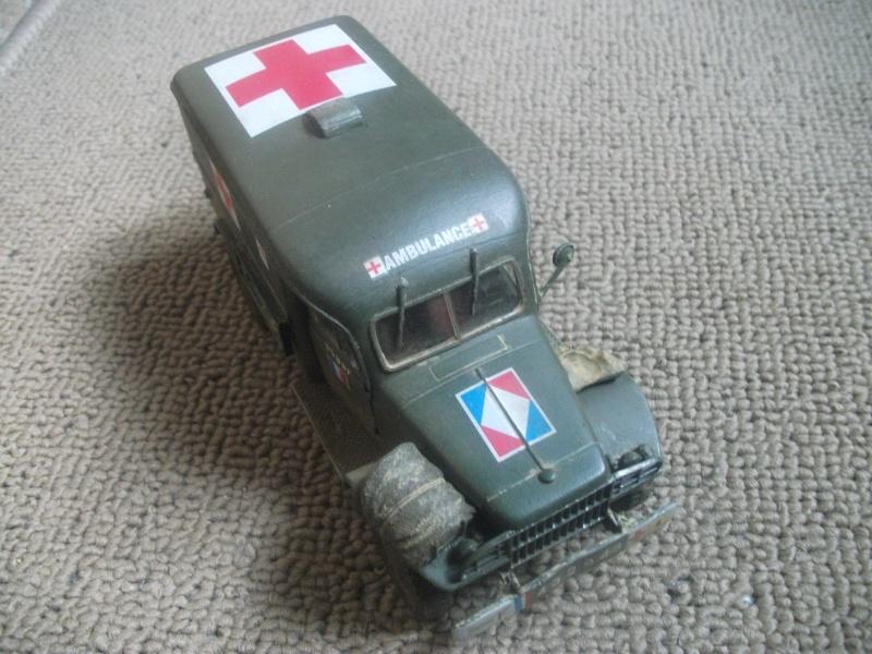 Dodge WC 54 1:35 BILECK , 9eme bataillon médical 2eme DIM CEF fini 00112