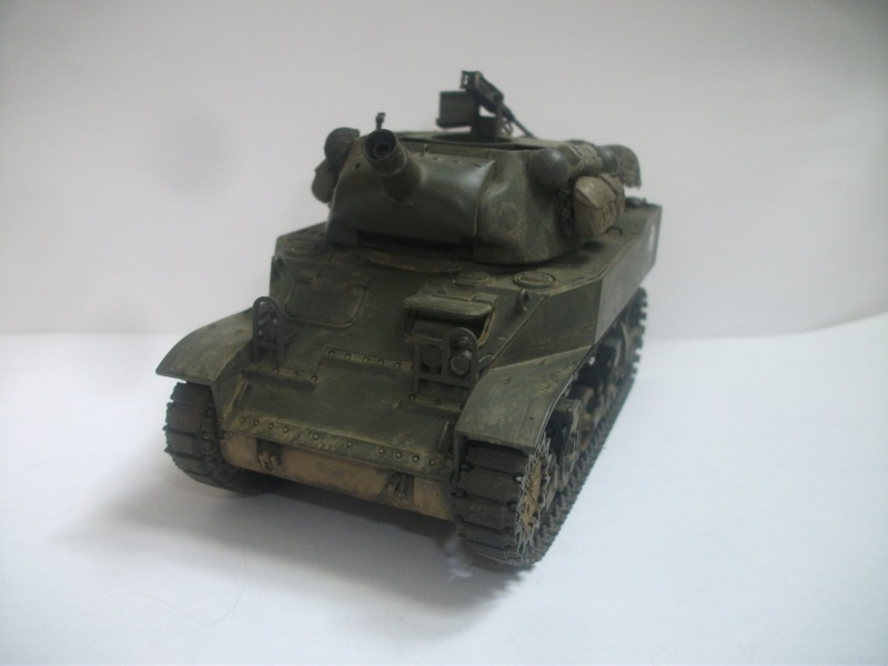 """ lance patates "" obusier automoteur M8 Tamiya 1/35 RICM 1945 00215"