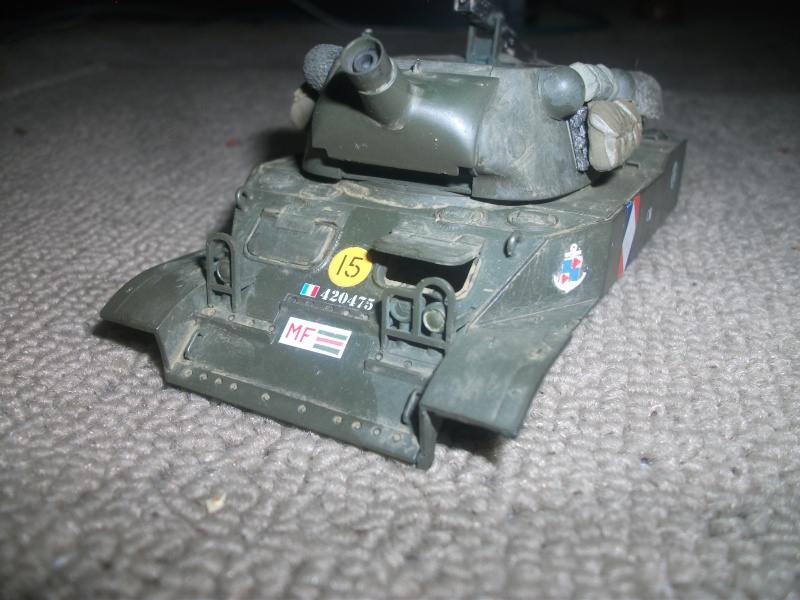 """ lance patates "" obusier automoteur M8 Tamiya 1/35 RICM 1945 00216"