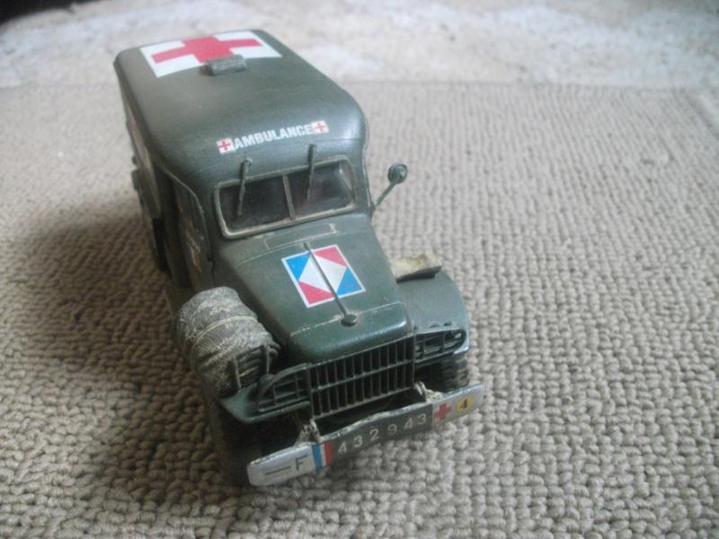 Dodge WC 54 1:35 BILECK , 9eme bataillon médical 2eme DIM CEF fini 00510