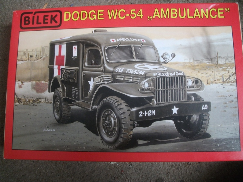 Dodge WC54 ambulance Bileck 1/35 00910