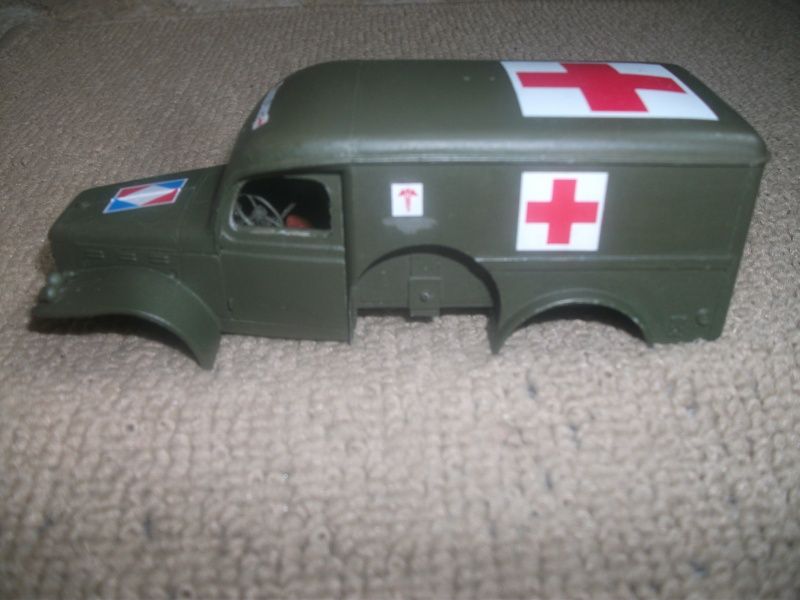 Dodge WC54 ambulance Bileck 1/35 01510