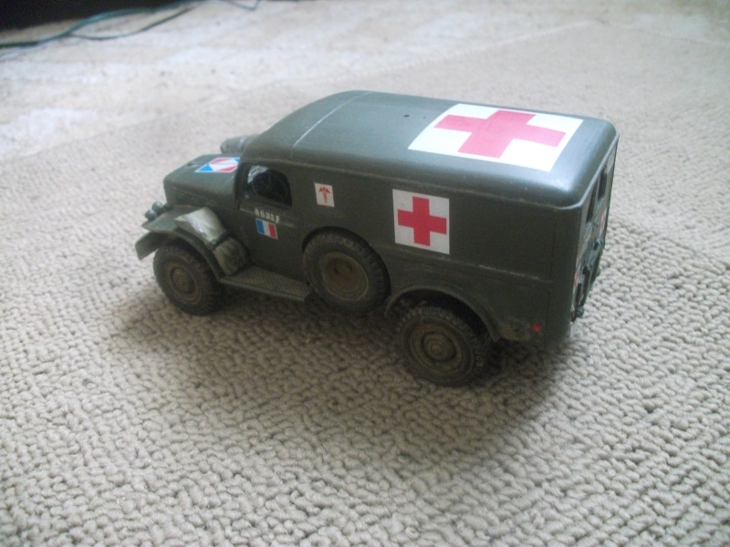 Dodge WC54 ambulance Bileck 1/35 01611
