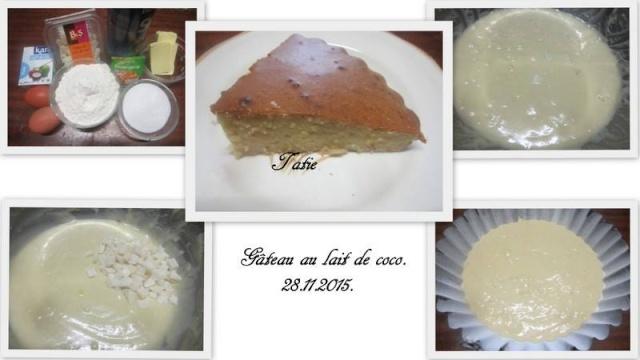 Gâteau au lait de coco. 12301511