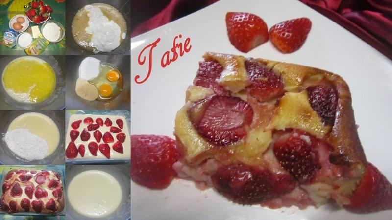 Clafoutis aux fraises & crème fraiche. 12512210