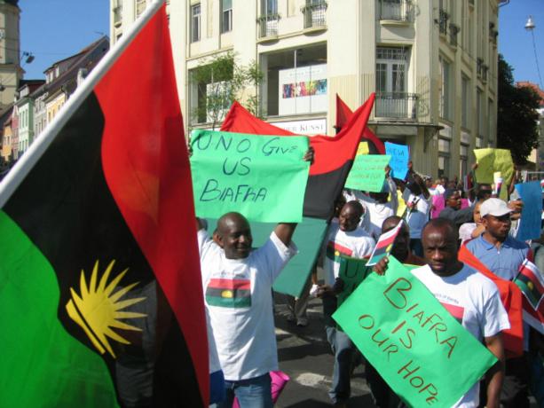 Biafra : L'Organisation des Etats Africains Emergents exige un référendum Biafra10