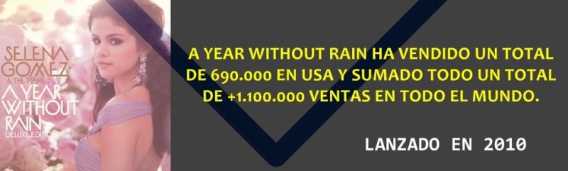 Selena Gomez: Cifras de ventas. 00000021