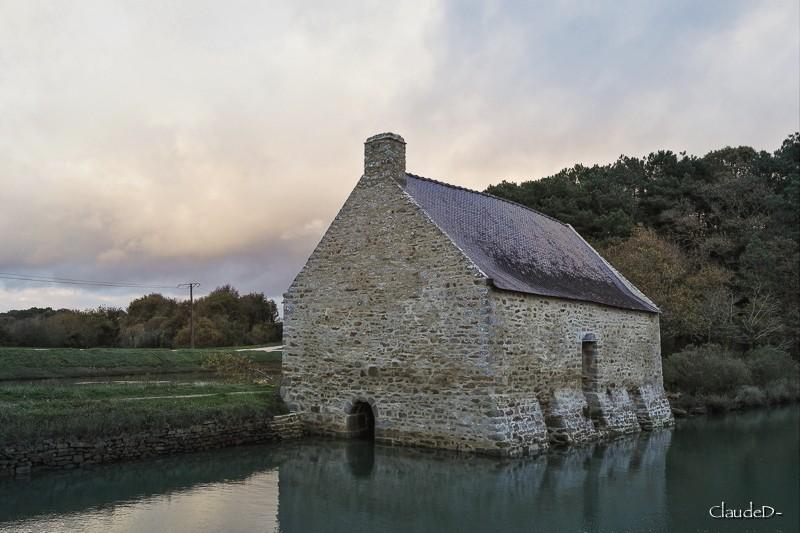 Le Moulin de Pomper à Baden (56) Moulpo12