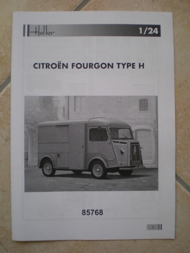 CITROEN FOURGON TYPE H 1:24 HELLER Imgp0034
