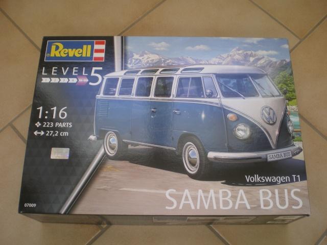 Volkswagen T1 SAMBA BUS REVELL 1:16 Imgp0111