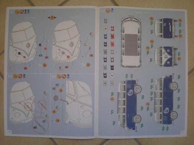 Volkswagen T1 SAMBA BUS REVELL 1:16 Imgp0129