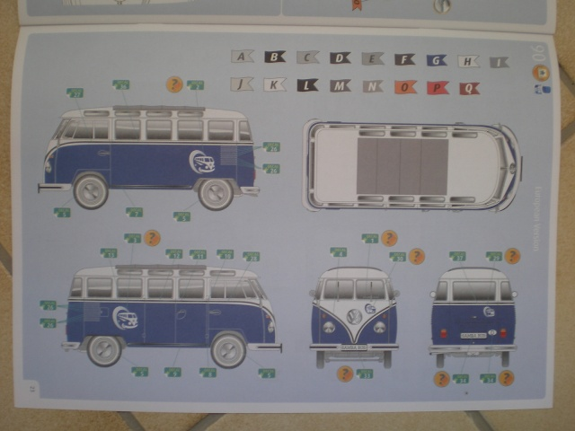 Volkswagen T1 SAMBA BUS REVELL 1:16 Imgp0132