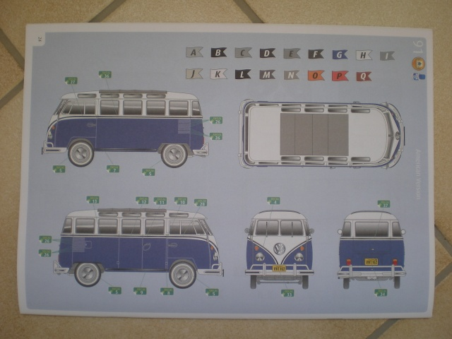 Volkswagen T1 SAMBA BUS REVELL 1:16 Imgp0133