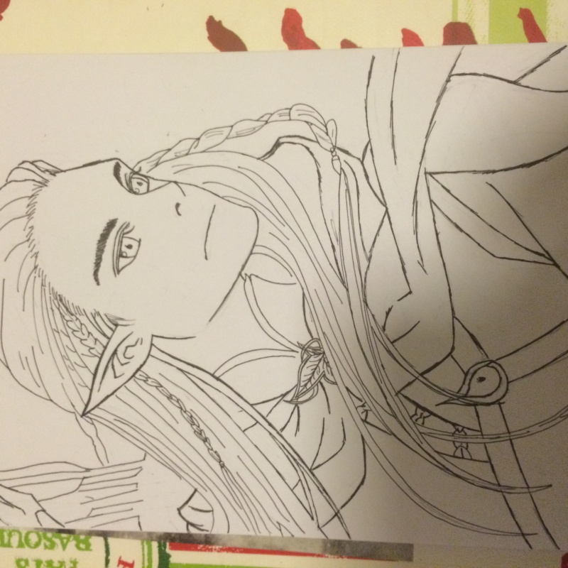 Concours de dessin n°3 : Sda/Hobbit  Image10