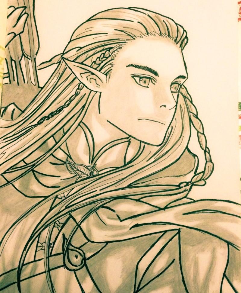 Concours de dessin n°3 : Sda/Hobbit  - Page 2 Image15