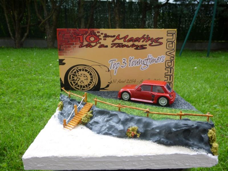 mes diorama voiture echelle 1/18 ET 1/43 1010