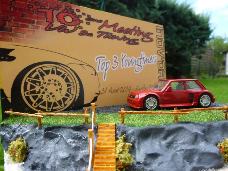 mes diorama voiture echelle 1/18 ET 1/43 1110
