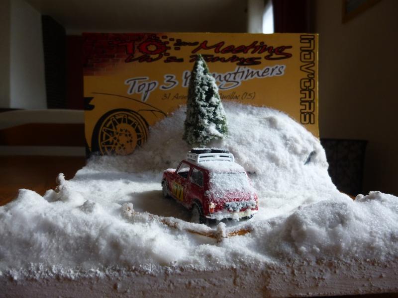 mes diorama voiture echelle 1/18 ET 1/43 1510