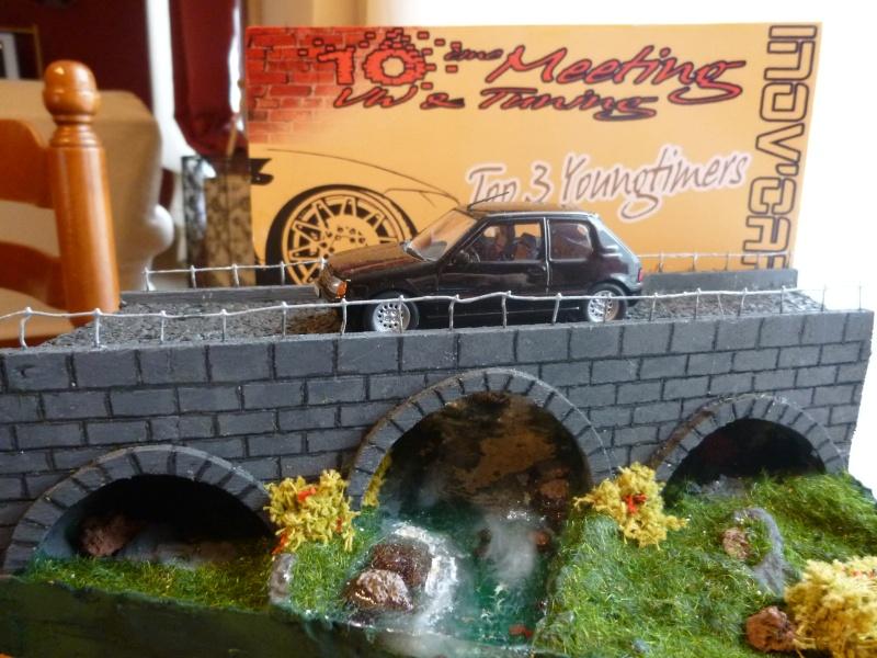 mes diorama voiture echelle 1/18 ET 1/43 2710