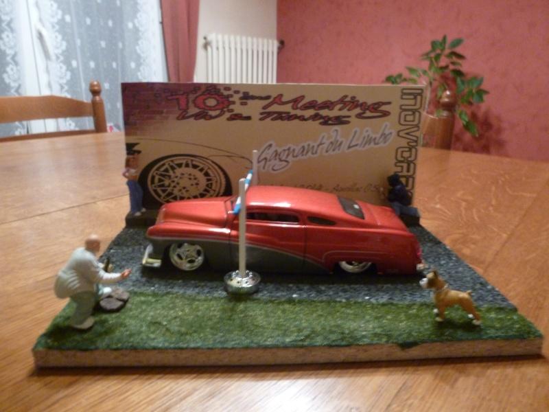 mes diorama voiture echelle 1/18 ET 1/43 712
