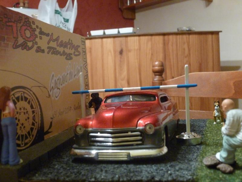 mes diorama voiture echelle 1/18 ET 1/43 811