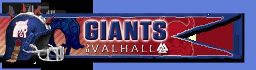 Les Franchises Cabalvision par roster Giants13