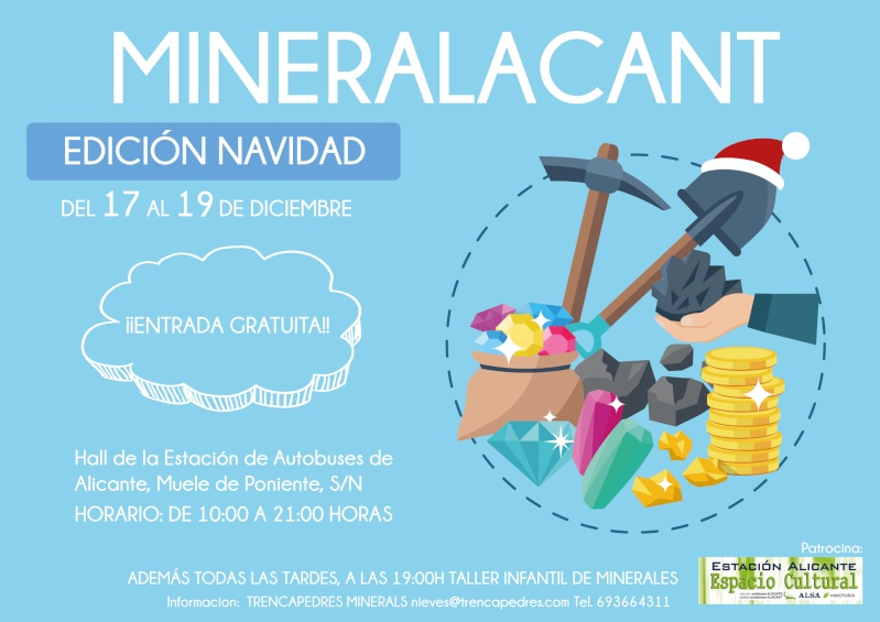 MINERALACANT 2015, Edición Navidad Minera10