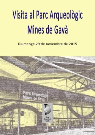 RESSENYA visita diumenge 29-11-15 Parc Arqueològic Mines de Gavà (Barcelona) Sortid10