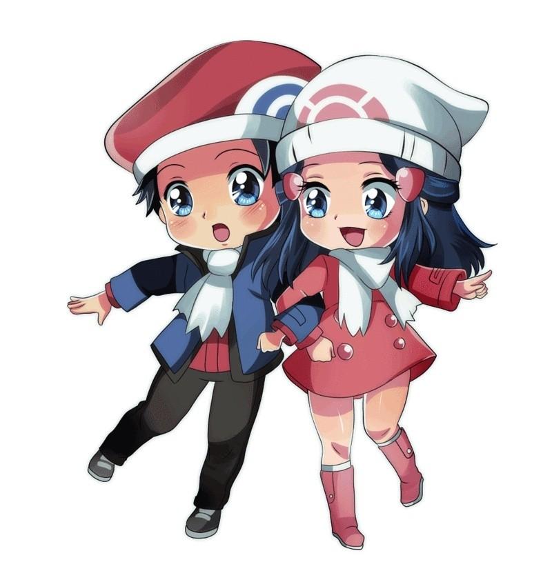 FortuneShipping [Louka/Lucas/Kouki x Aurore/Dawn/Hikari] Pokemo11