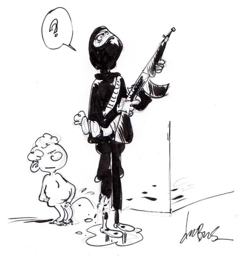 Les meilleurs dessins après les attentats - Page 4 12278811