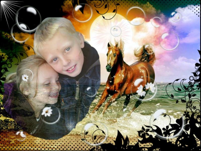 CONCOURS PHOTOS : le cheval et l'enfant - HOMMAGE !! - Page 2 Mes_na10