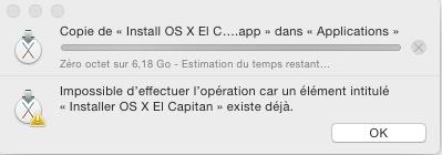 probleme message erreur quand je deplace installer el capitan dans application Proble13