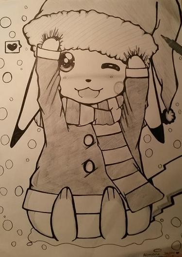 La galerie Pokémon de Wakfina !  - Page 3 Pikach10