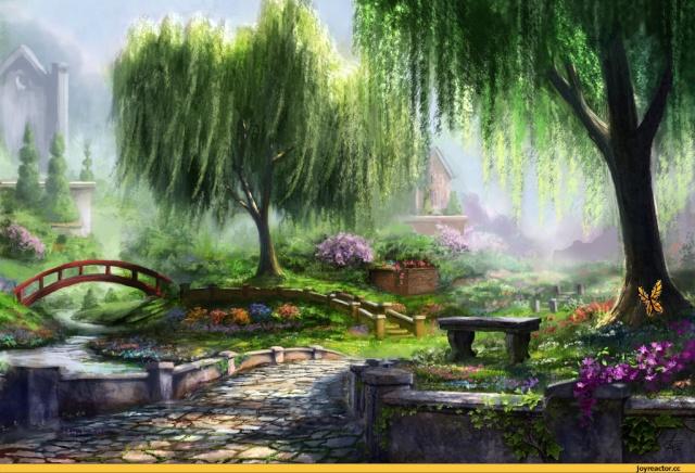 Цветущий сад    D181d010
