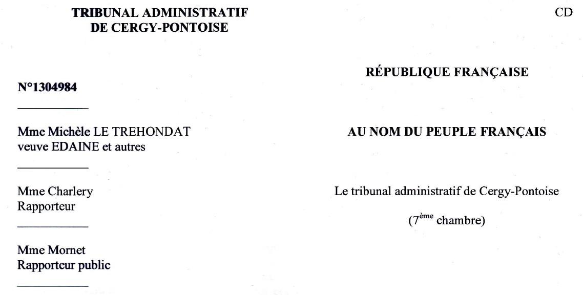 le Centre Hospitalier Psychiatrique Roger Prévot de Moisselles condamné pour le décès de Florence Edaine