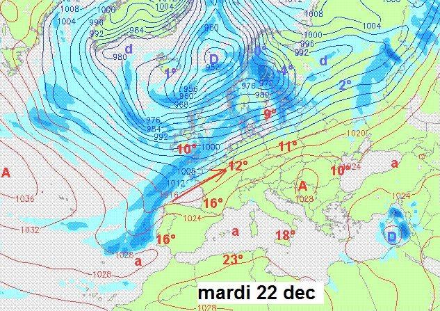 Prévisions de Luc Trullemans 15/12/2015 2210