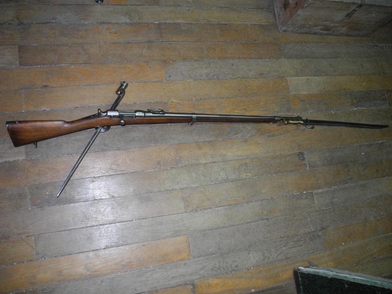 Fusil chassepot du contrat CAHEN-LYON fabriqué à Vienne (Autriche) Dscn8564