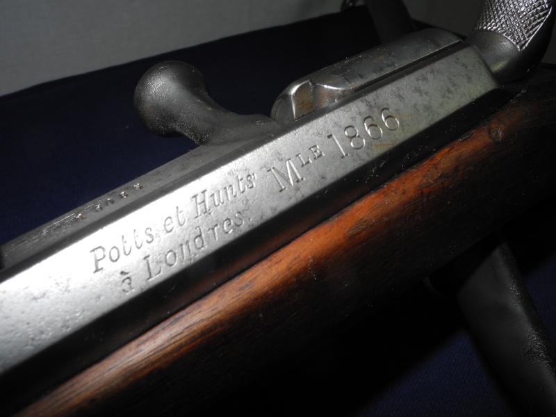 Fusil chassepot du contrat CAHEN-LYON fabriqué à Vienne (Autriche) Dscn8570